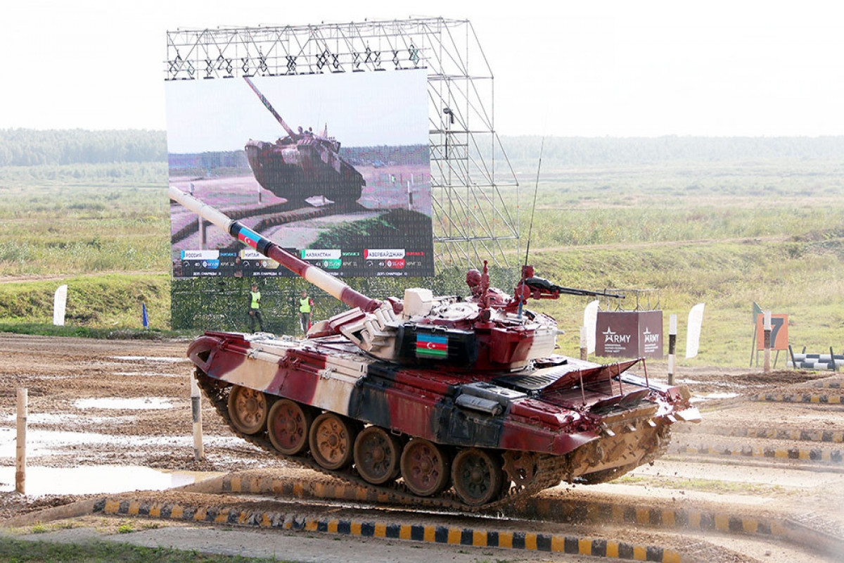 """""""Tank biatlonu"""" müsabiqəsi"""