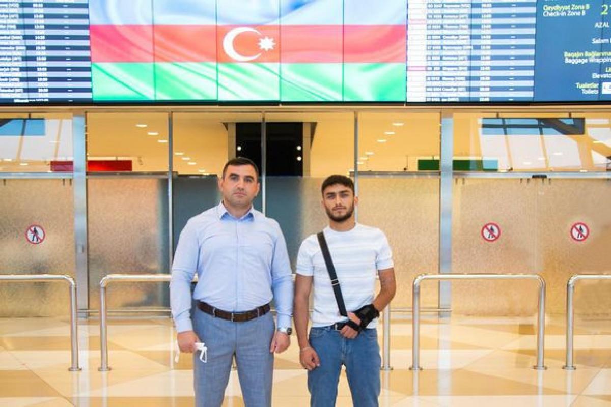 Фонд «YAŞAT» отправил в Турцию еще 3 участников войны
