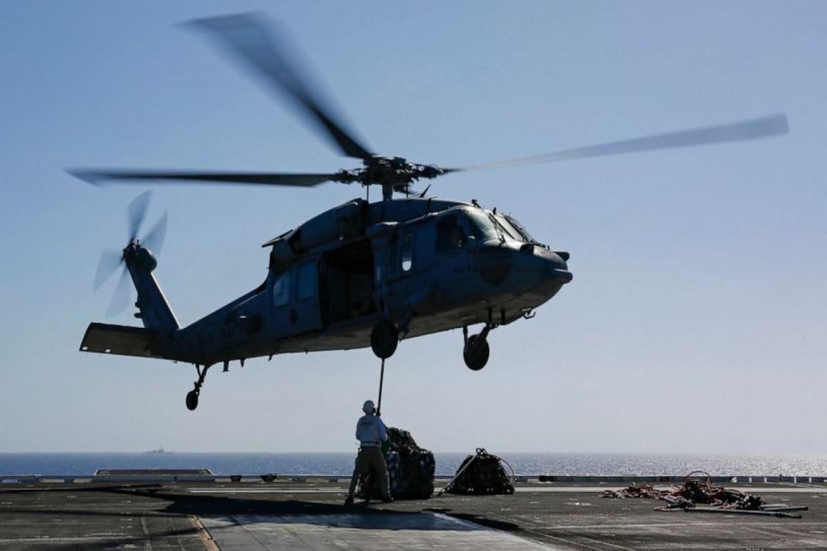 В Калифорнии упал в воду вертолет ВМС США, 5 человек числятся пропавшими без вести