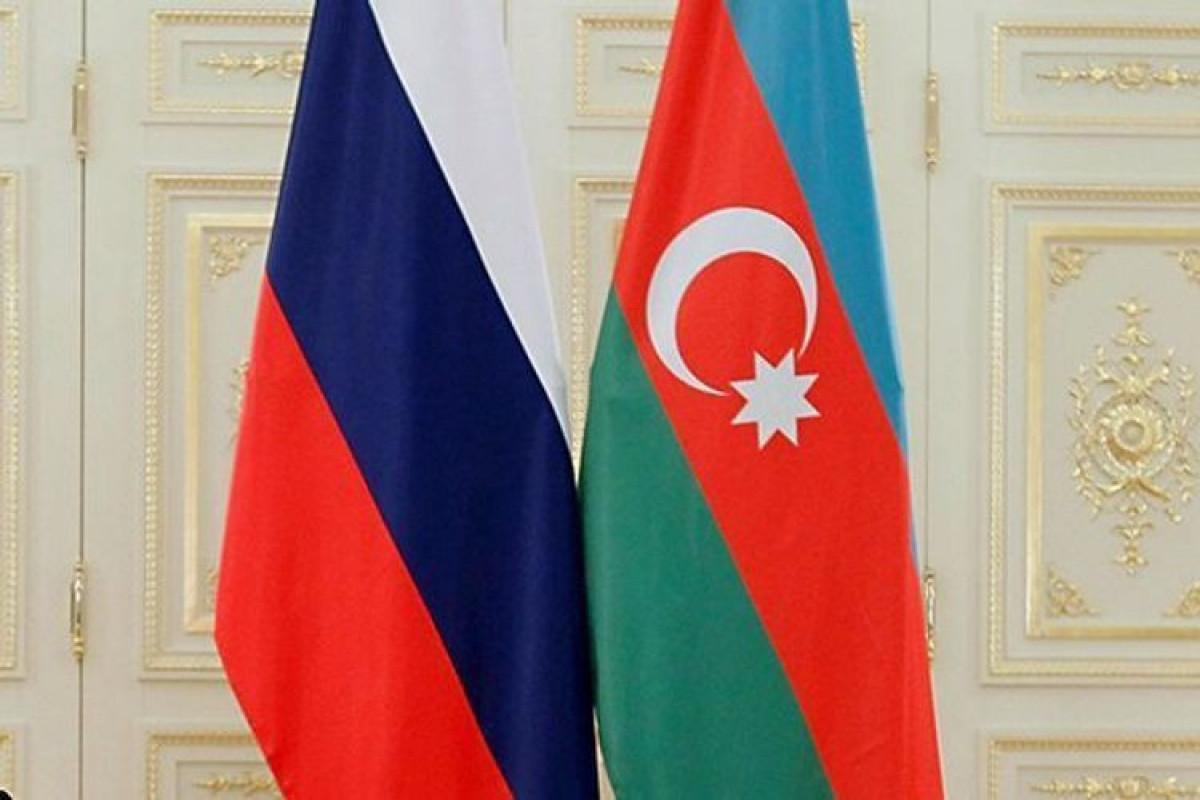 Russian and Azerbaijani Flags