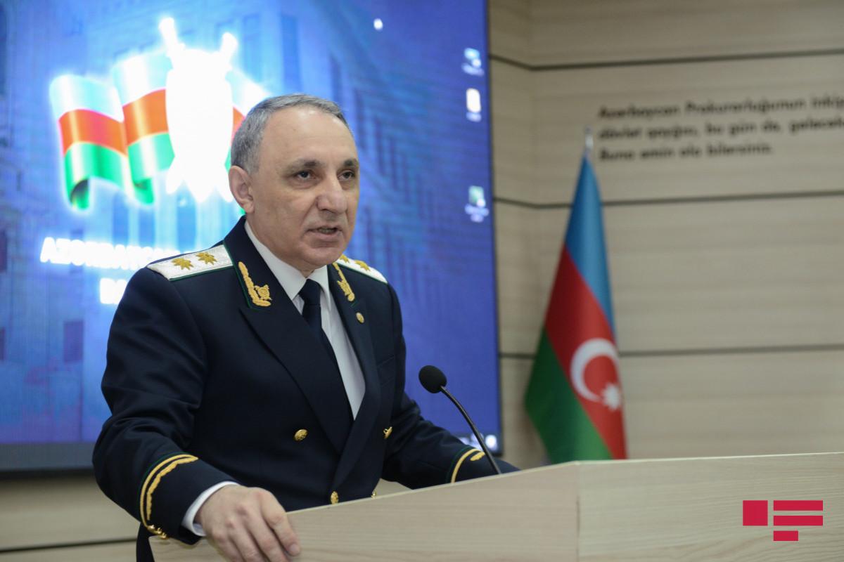 Prosecutor General Kamran Aliyev