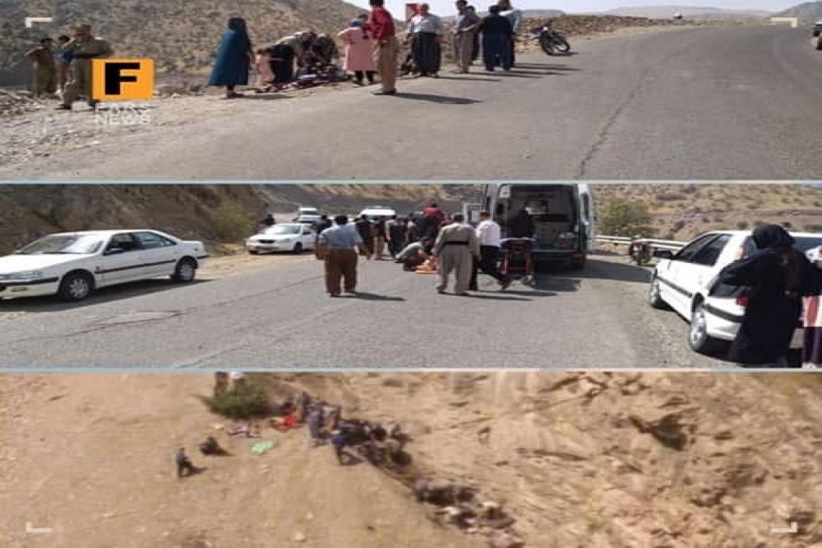 İranda avtobus dərəyə aşıb, 14 nəfər ölüb