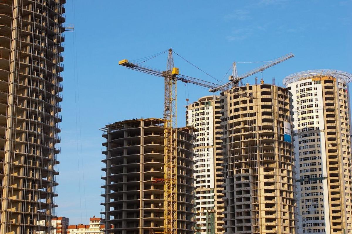 Общая жилплощадь, переданная в пользование в этом году в Азербайджане, резко сократилась