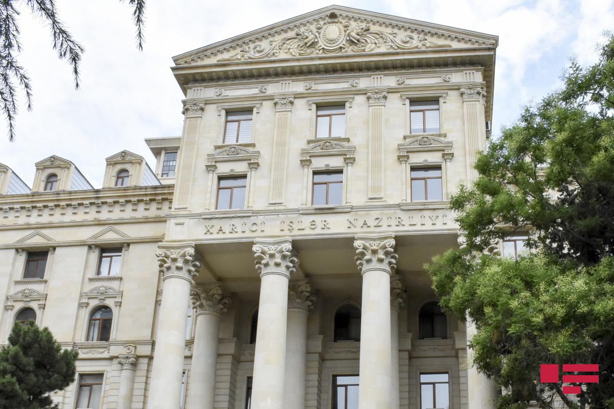 The Azerbaijani Foreign Ministry