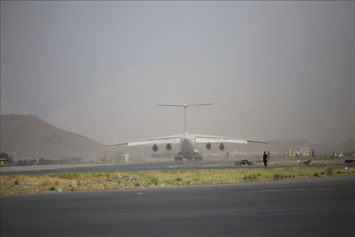 UAE plane with humanitarian aid landed in Afghanistan-VIDEO