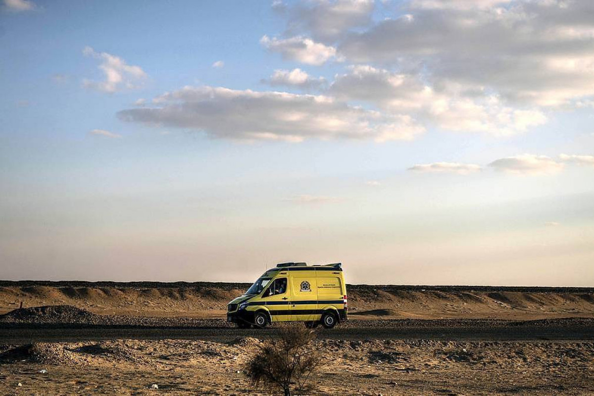 Twelve people died in bus accident in Egypt
