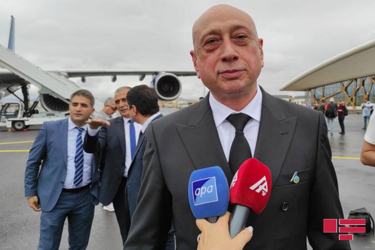 Eldar Hajiyev,Vice-Presidentof Azerbaijan Airlines