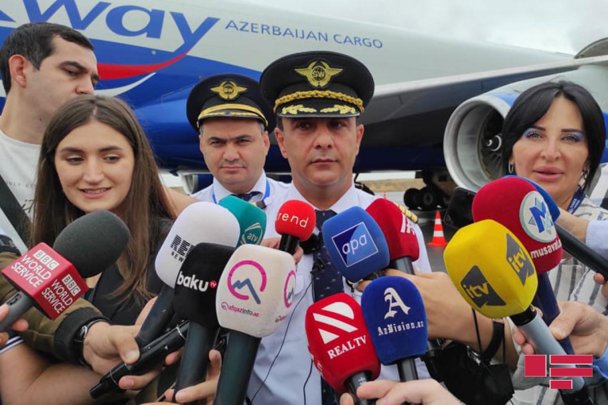 Расим Ашрафов, капитан авиалайнера «Boeing 747-400»