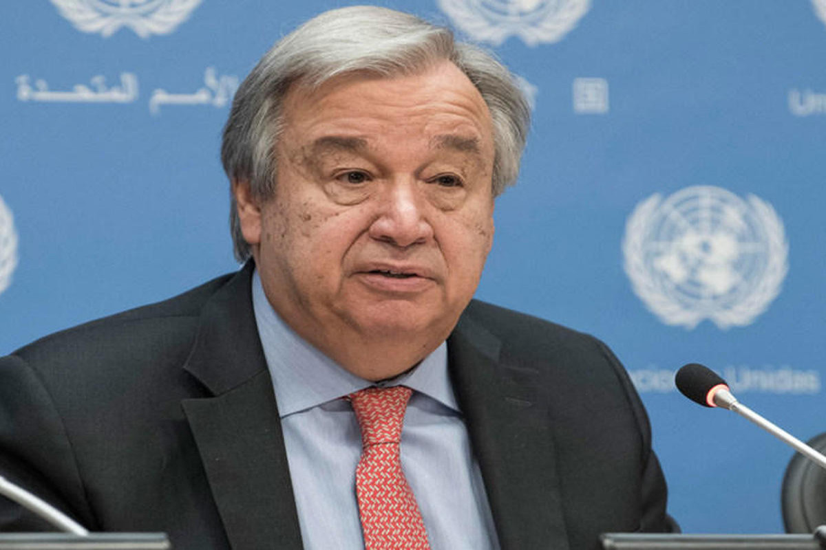 UN chief calls for immediate release of Guinean president