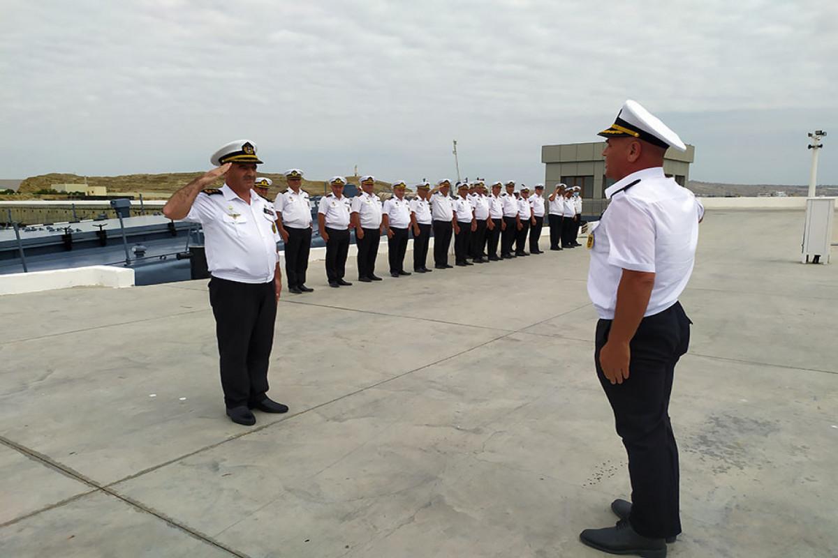 Азербайджанские военные моряки, участвовавшие в конкурсе «Кубок моря», вернулись в Баку