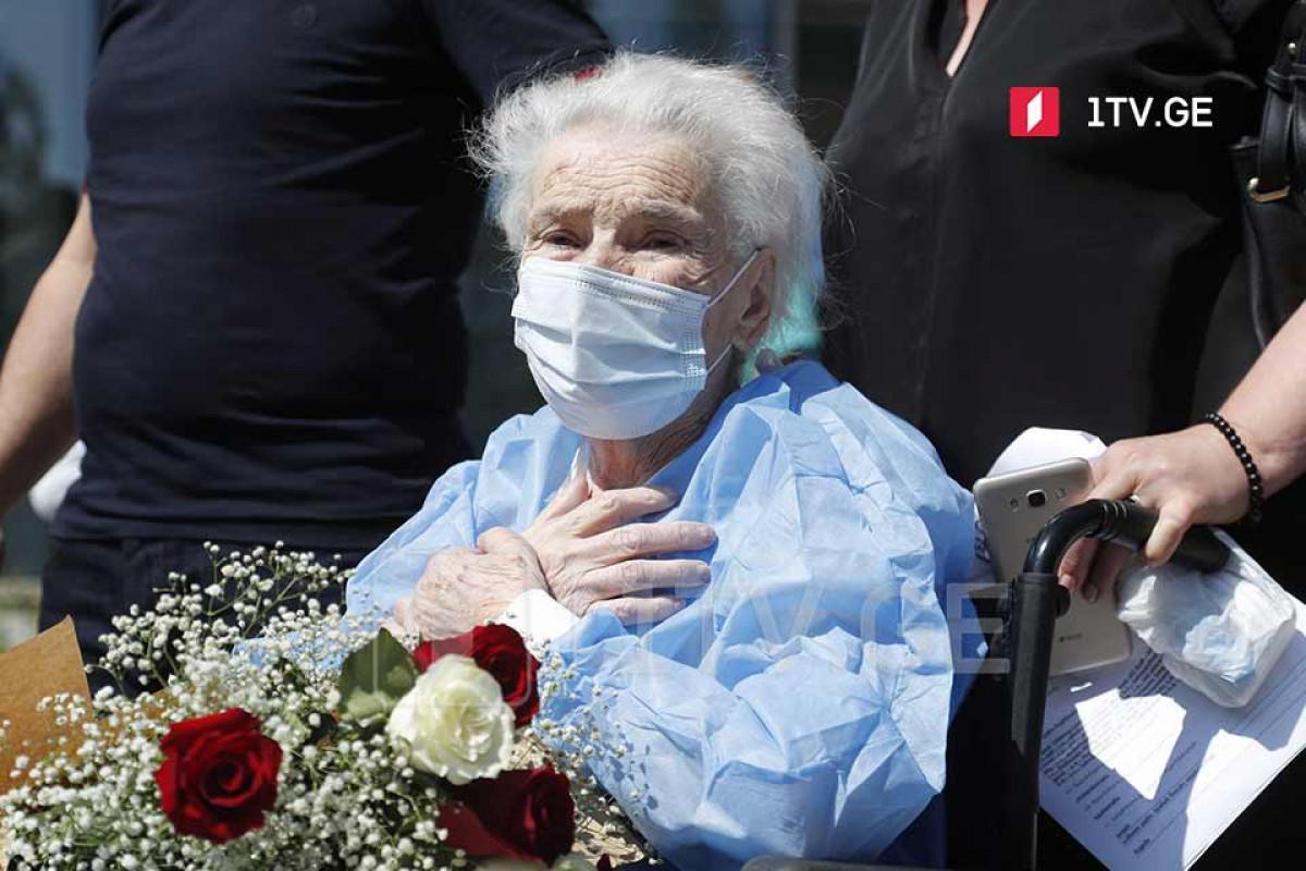 В Грузии 111-летняя женщина вылечилась от COVID-19 – ФОТО