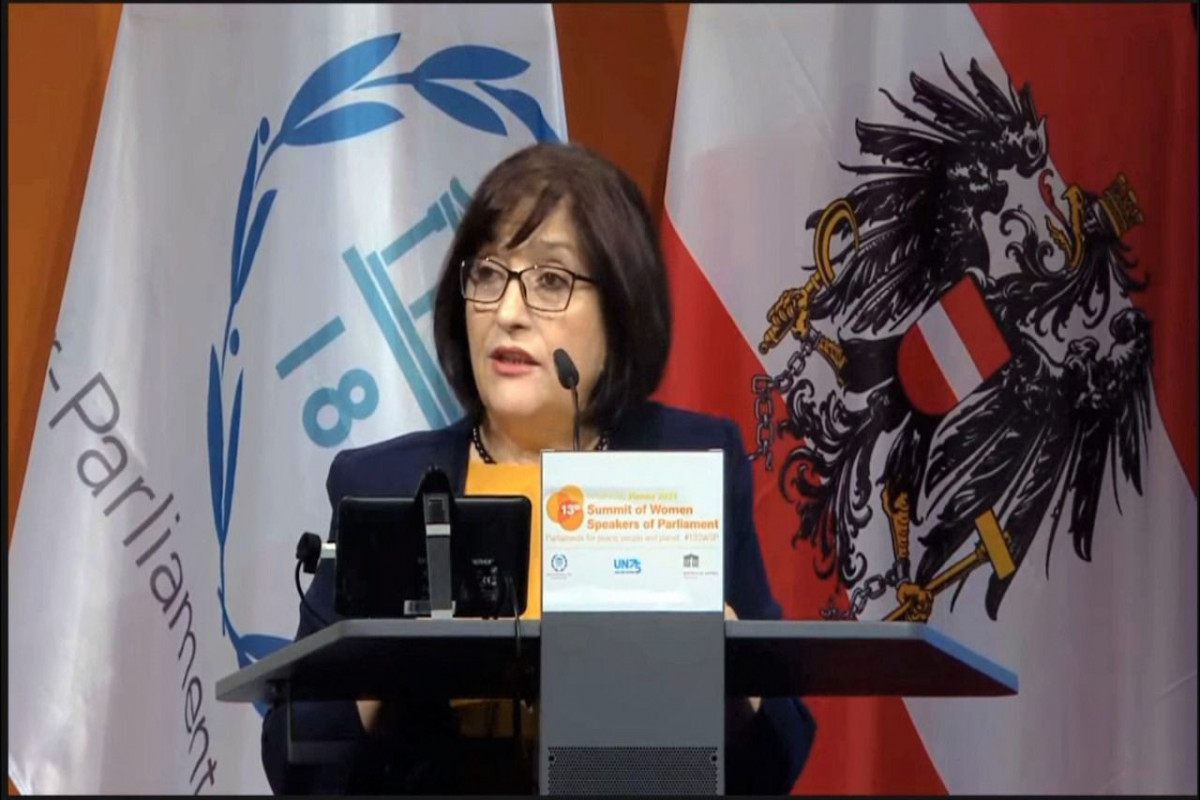 Сахиба Гафарова выступила на 13-м саммите женщин-спикеров парламентов