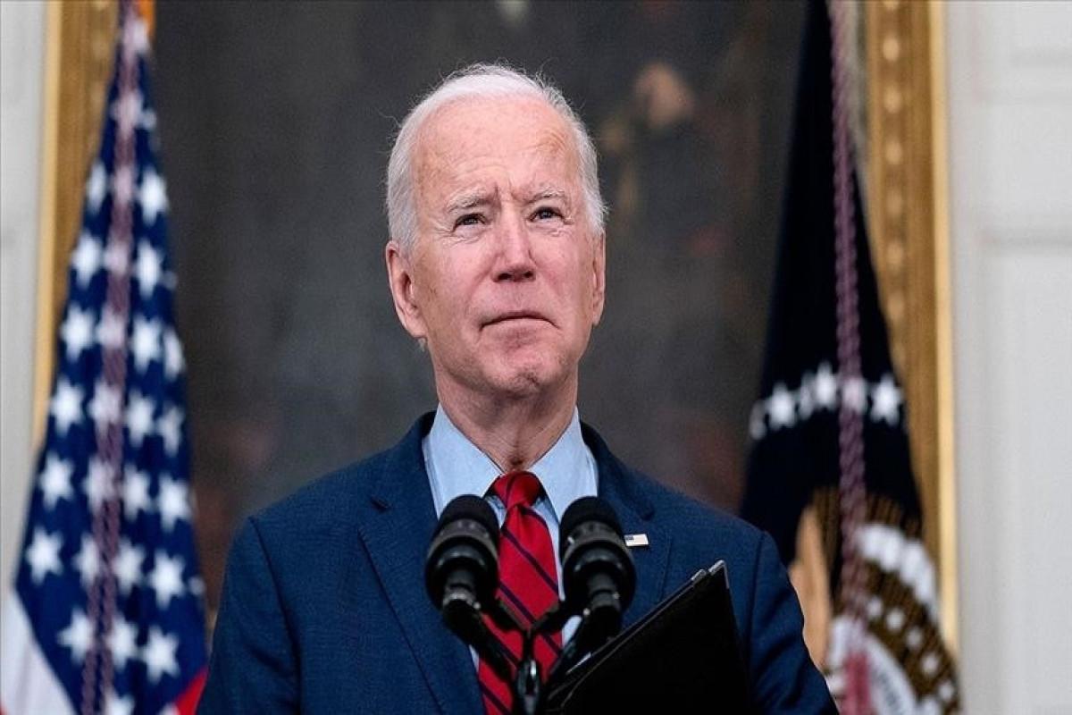 US President Joe Biden said