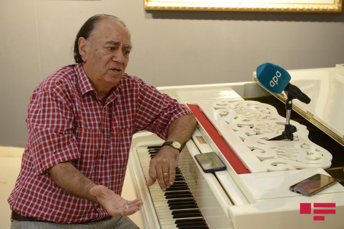 """Cavan Zeynallı: """"Bizdə şanson oxuyan yoxdur"""" - MÜSAHİBƏ"""