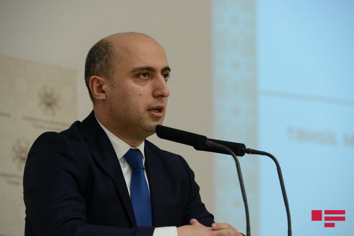 Minister of Education Emin Amrullayev