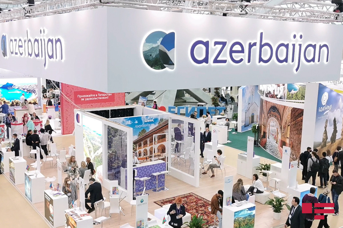 """Azerbaijan is represented by the Shusha stand in international tourism exhibition in Moscow-<span class=""""red_color"""">PHOTO"""