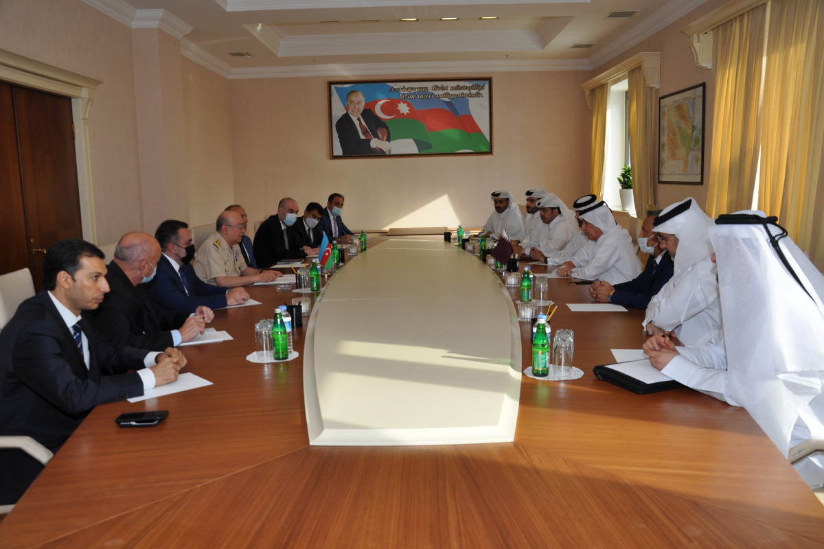 Kamaladdin Heydarov met with the Minister of State for Foreign Affairs of Qatar