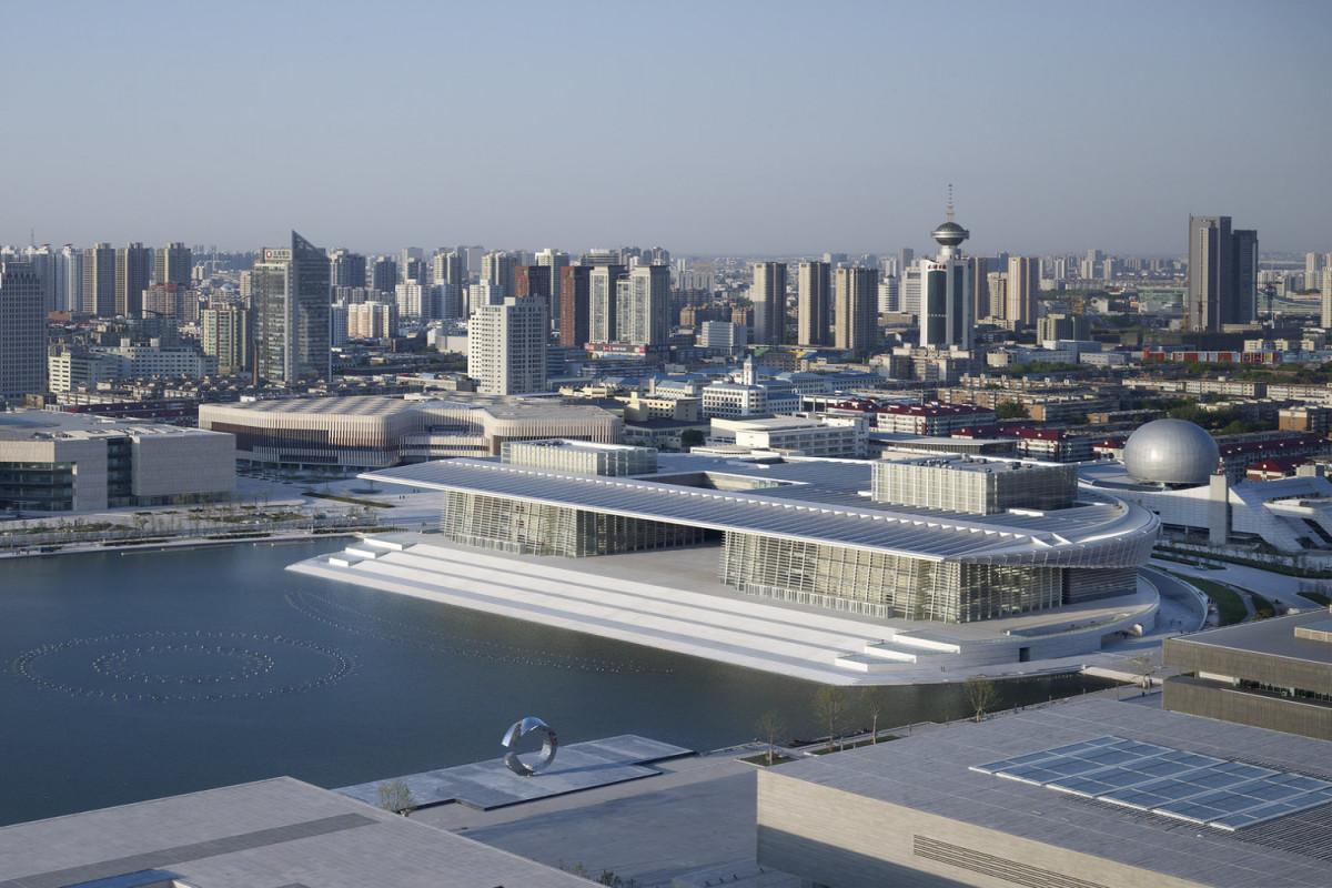 """Çinin Tiandzin şəhərinin Böyük Teatrında """"Arşın mal alan"""" operettasının yeni quruluşda premyerası olacaq"""