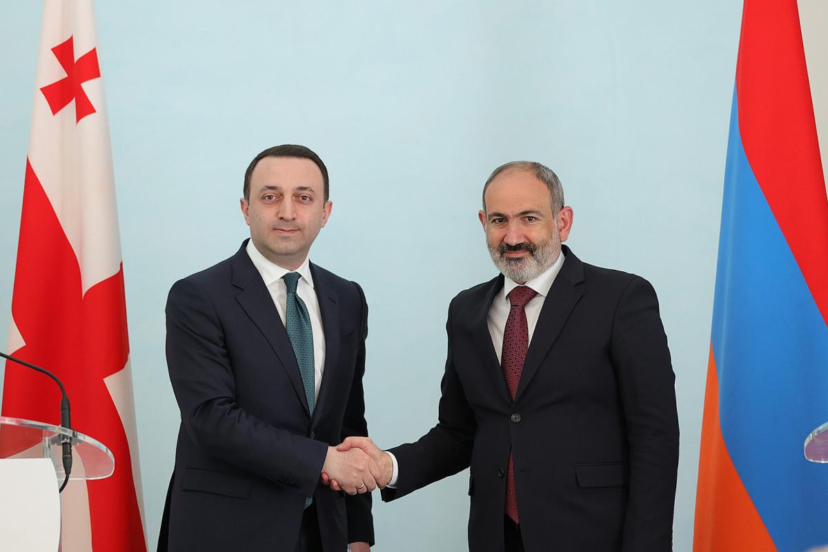 Ираклий Гарибашвили, Никол Пашинян