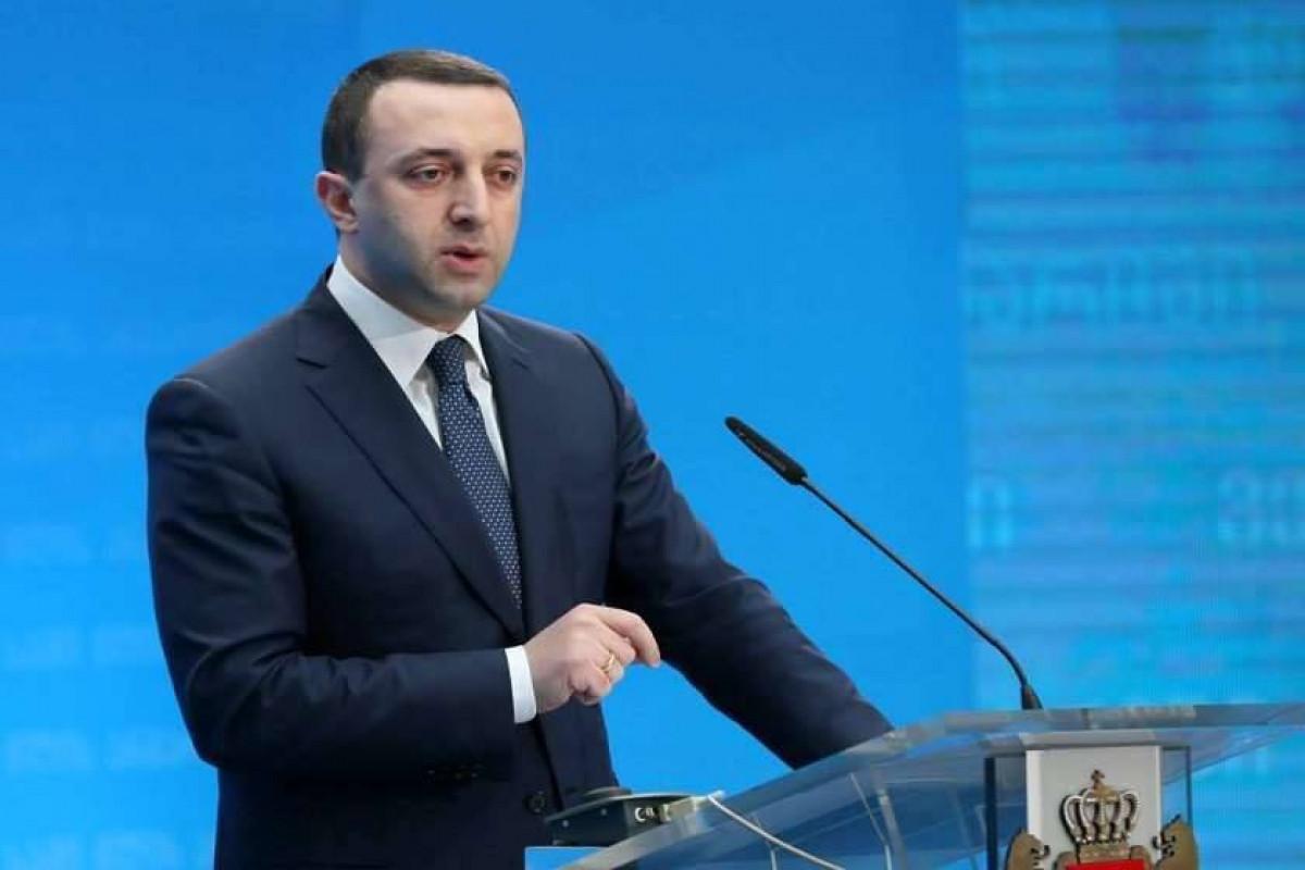 Gürcüstanın Baş naziri İrakli Qaribaşvili