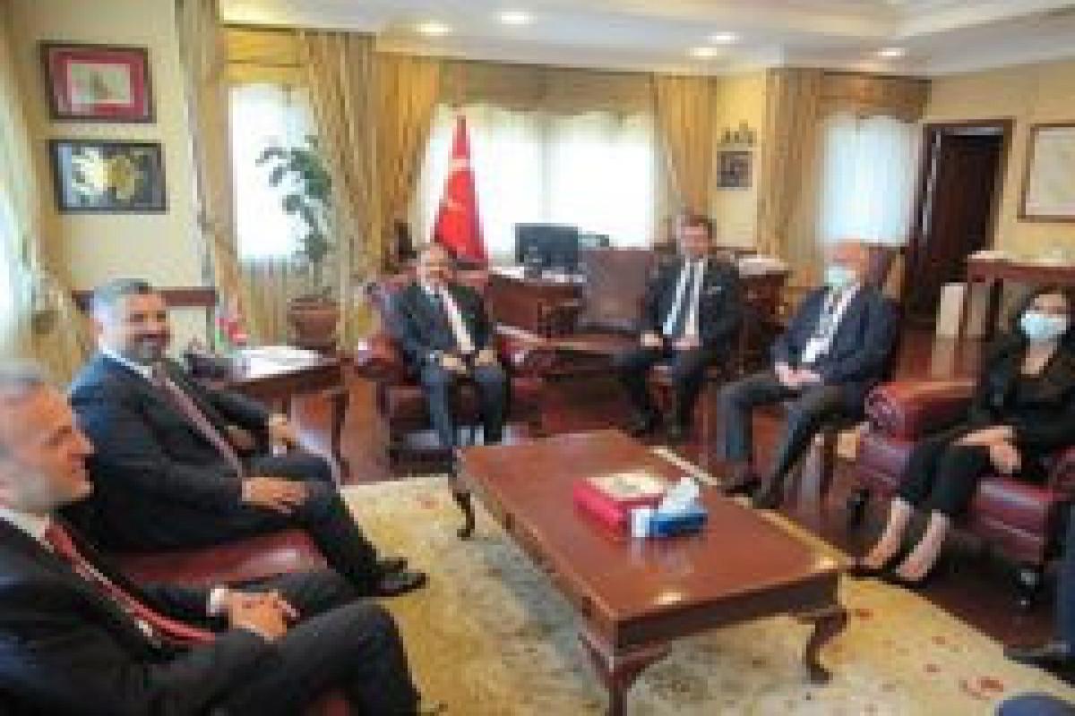 Председатель RTÜK и руководитель Агентства прессы и рекламы Турции находятся с визитом в Азербайджане