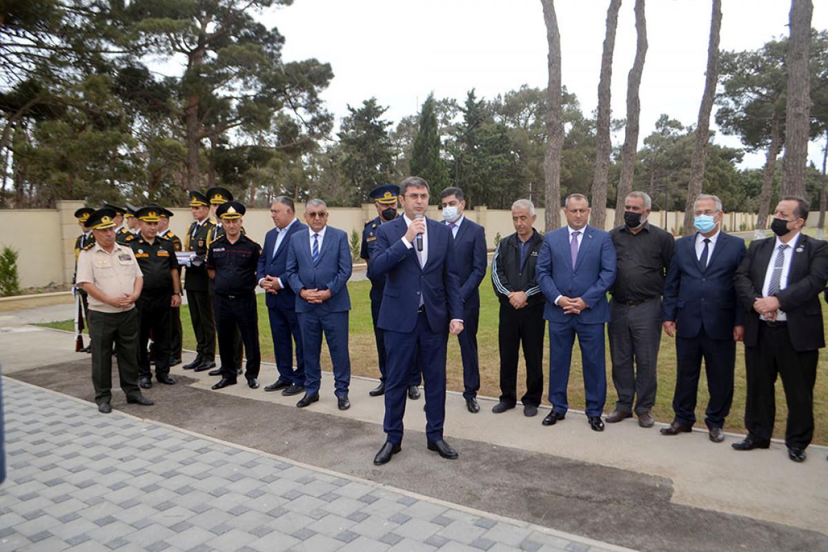 Vətən müharibəsi şəhidlərinin xatirəsi yad edilib - FOTO