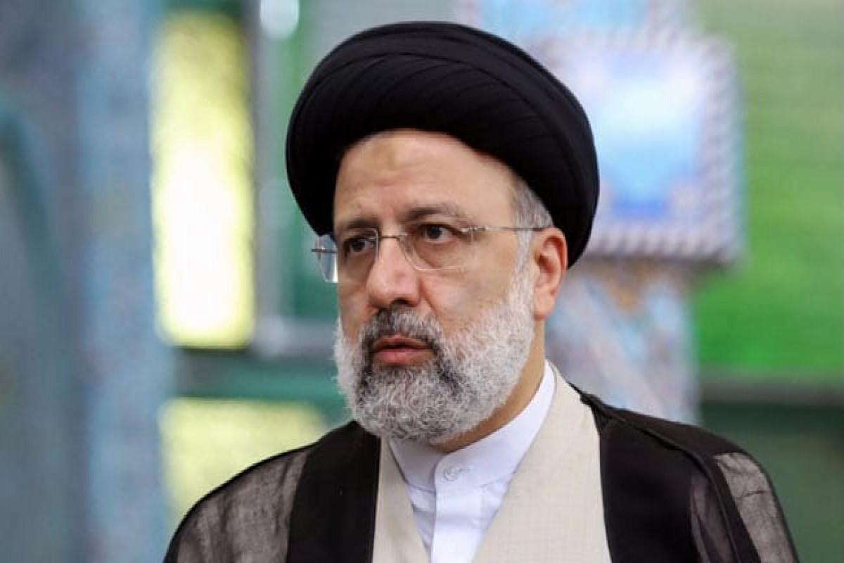 Iranian President Seyed Ebrahim Rayeesi