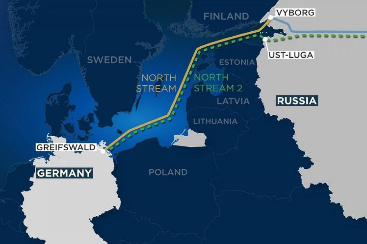 Nord Stream 2 pipeline construction fully completed