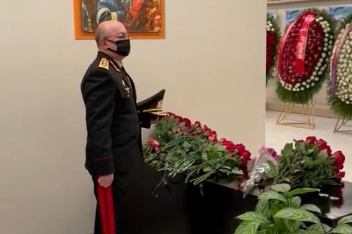Глава МЧС Кямаледдин Гейдаров