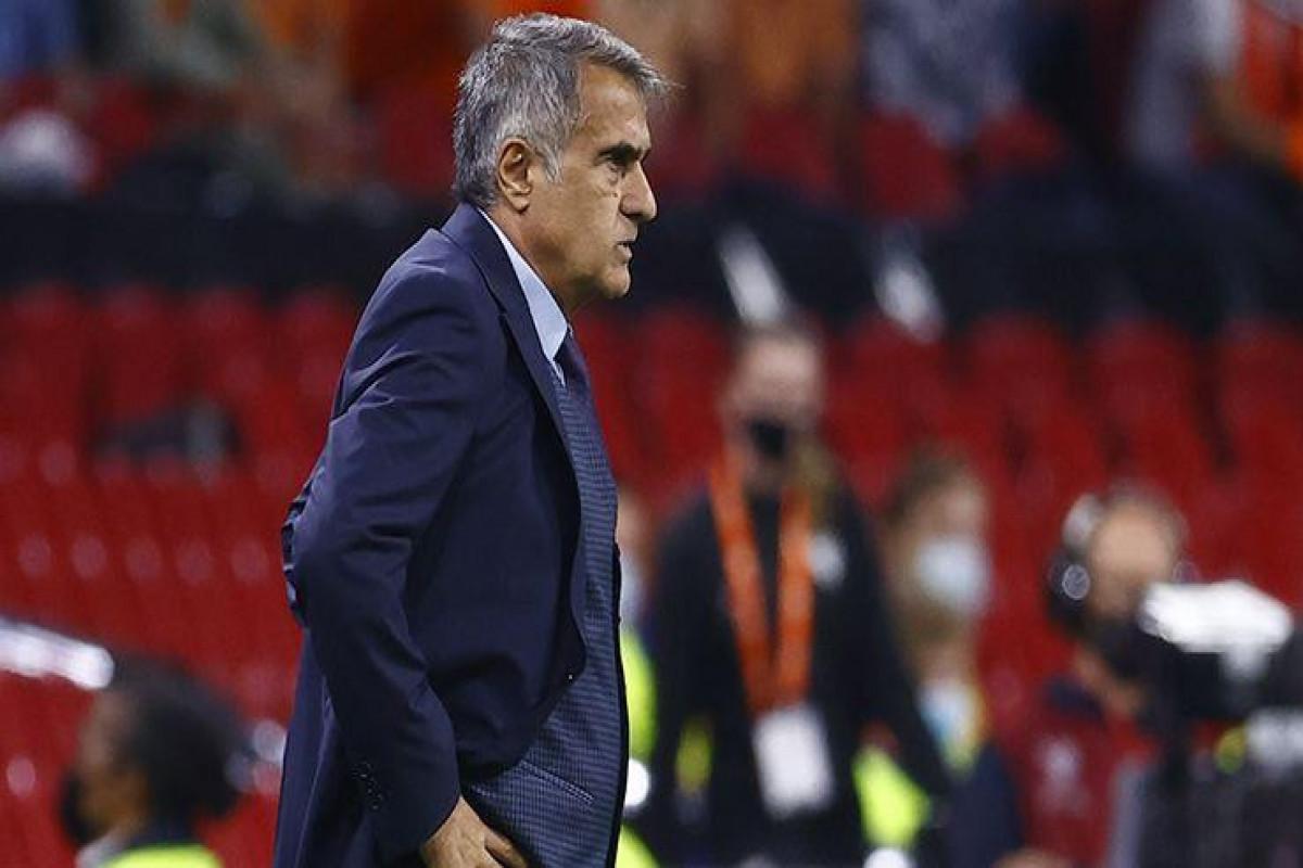 Шенол Гюнеш подал в отставку с поста главного тренера сборной Турции