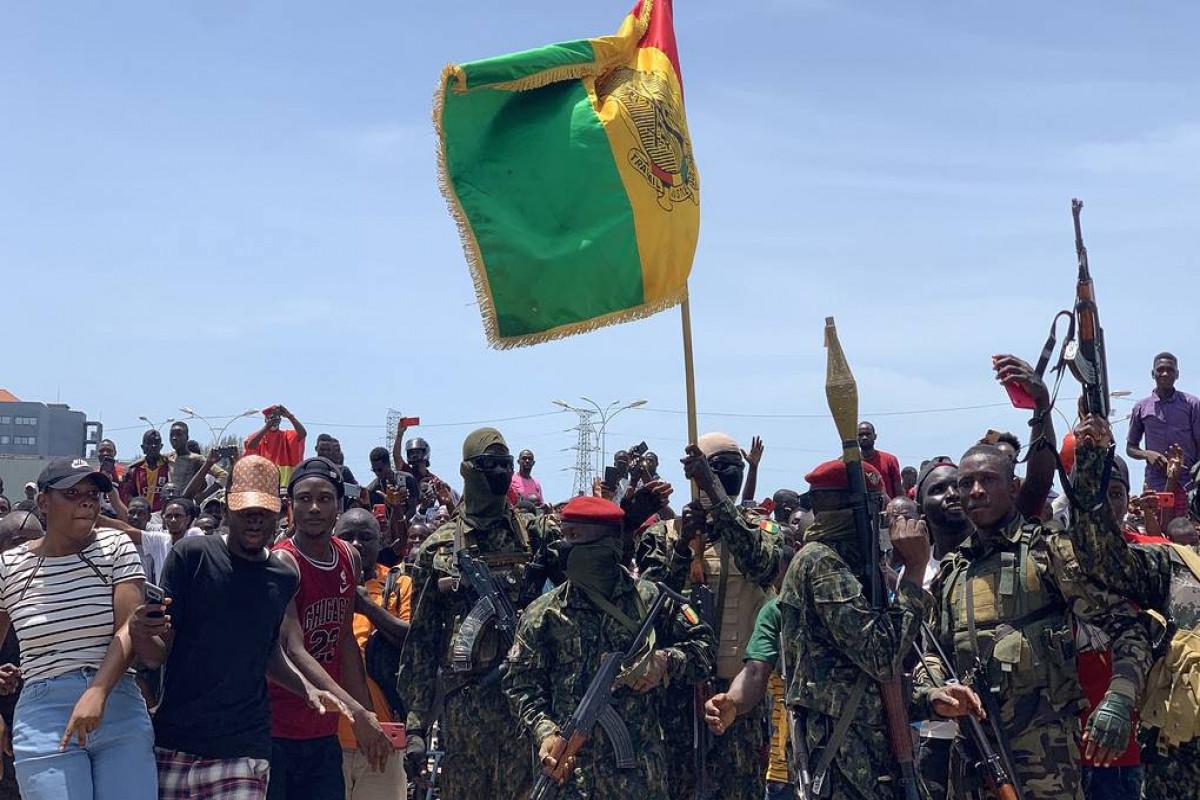Африканский союз приостановил членство Гвинеи