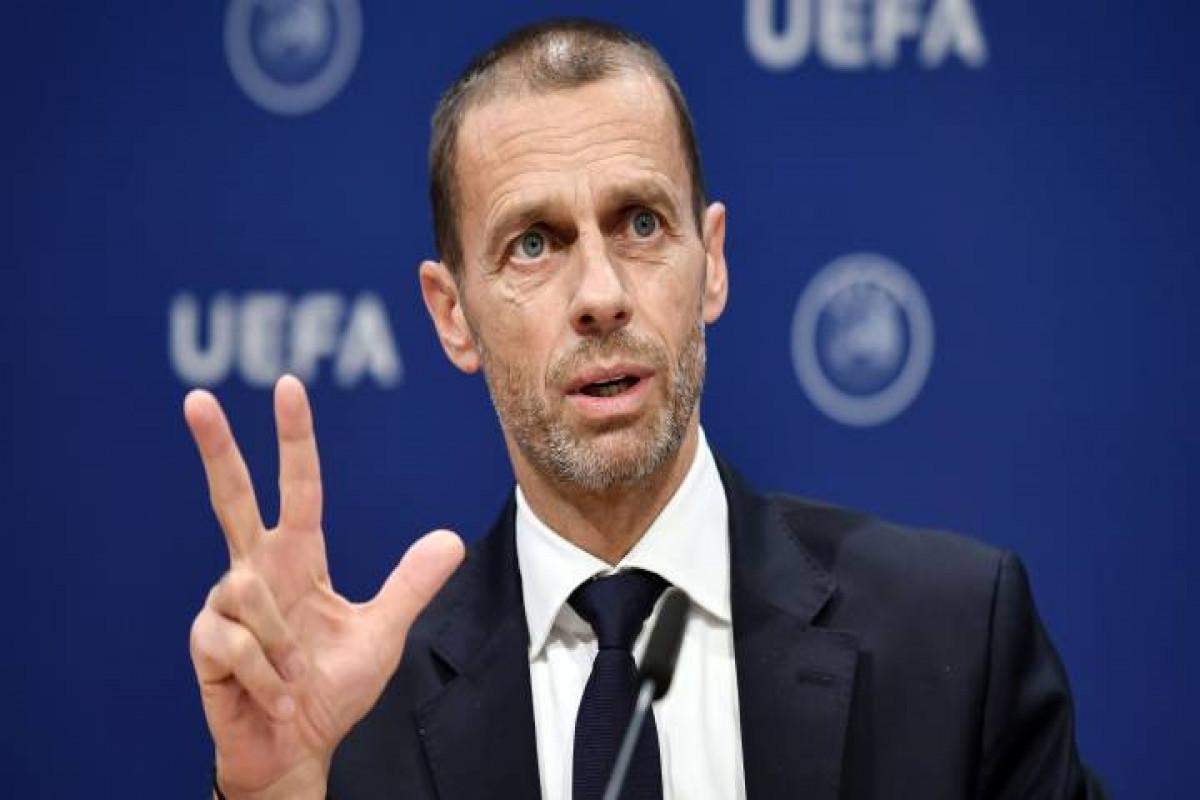UEFA prezidenti Superliqa yaratmaq istəyən klub rəhbərlərini tənqid edib