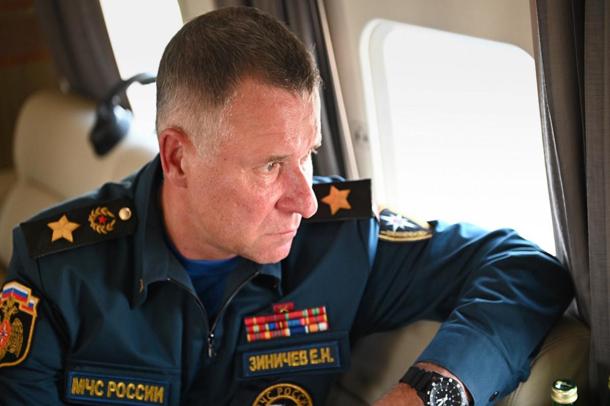 Rusiyanın fövqəladə hallar naziri Sankt-Peterburqda dəfn edilib