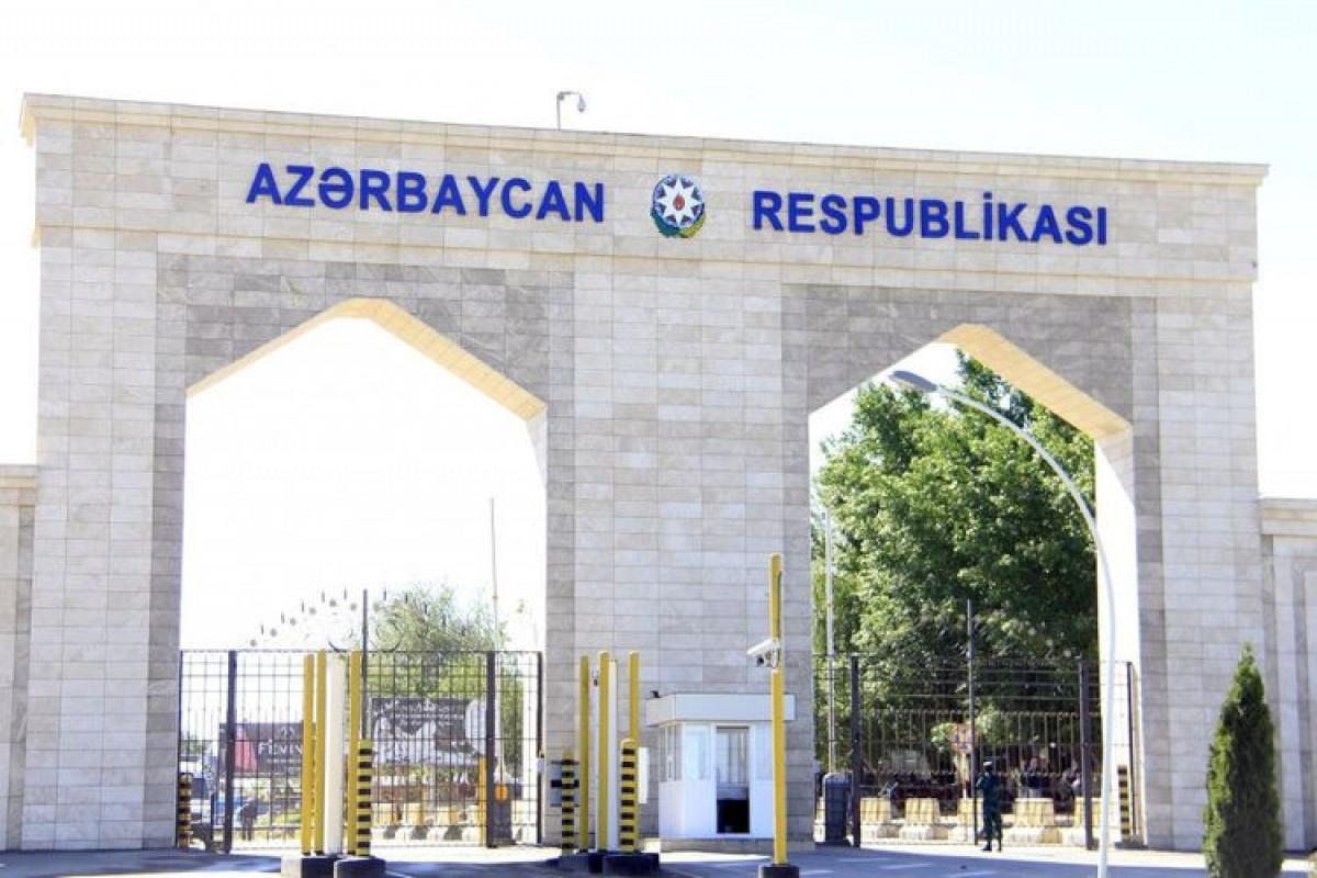 Şəxslərin piyada keçidləri ilə Azərbaycan ərazisinə daxil olması qaydası müəyyənləşib