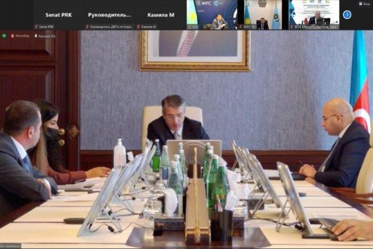 Hesablama Palatasının sədri Qazaxıstan AAQ-ın onlayn konfransında iştirak edib