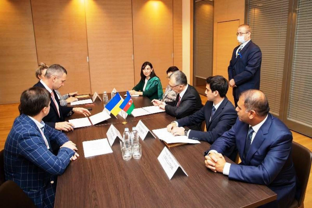 Bakı və Kiyev arasında qardaşlaşma haqqında niyyət protokolu imzalanıb