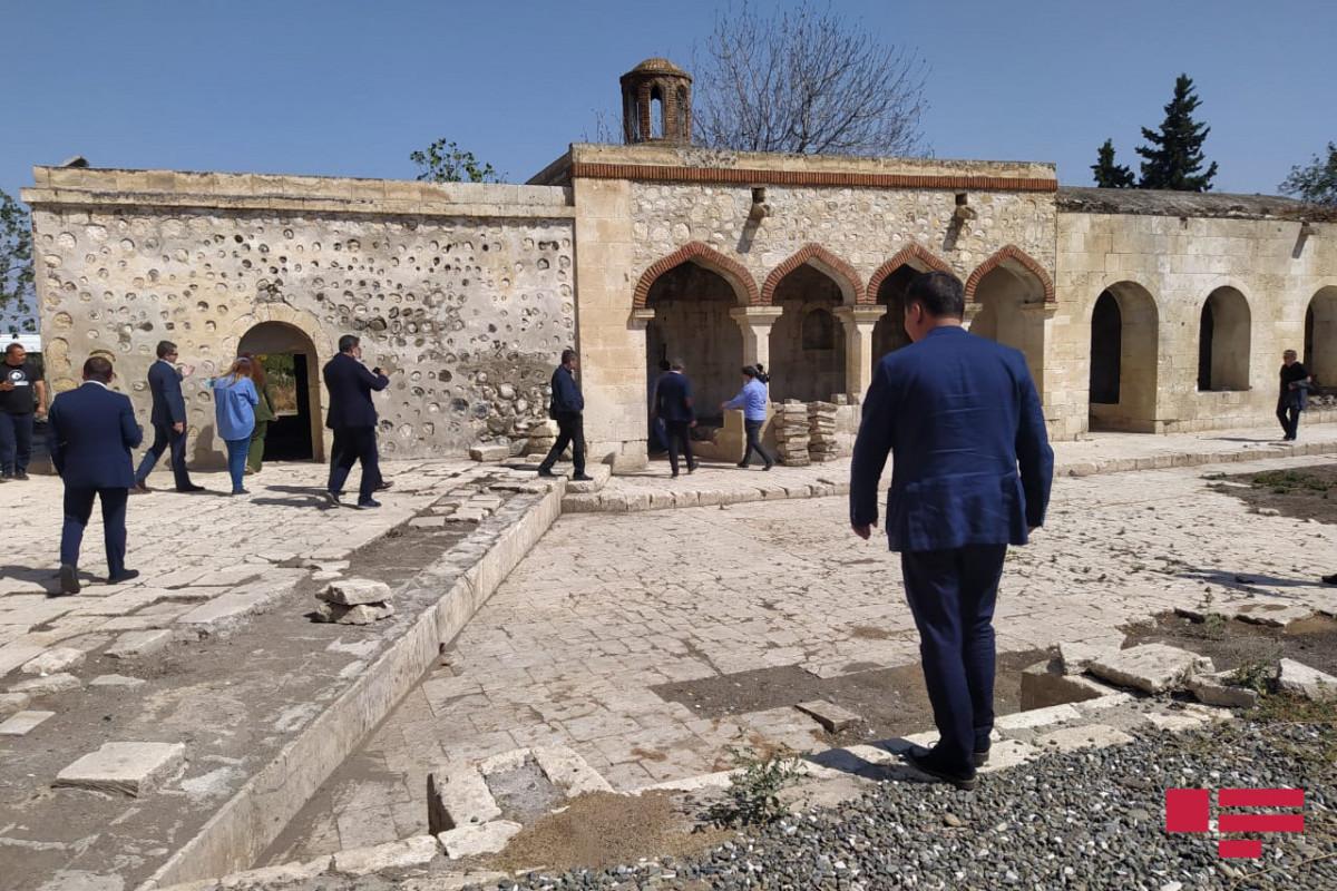 Министры экономики стран Тюркского совета посетили комплекс Имарет