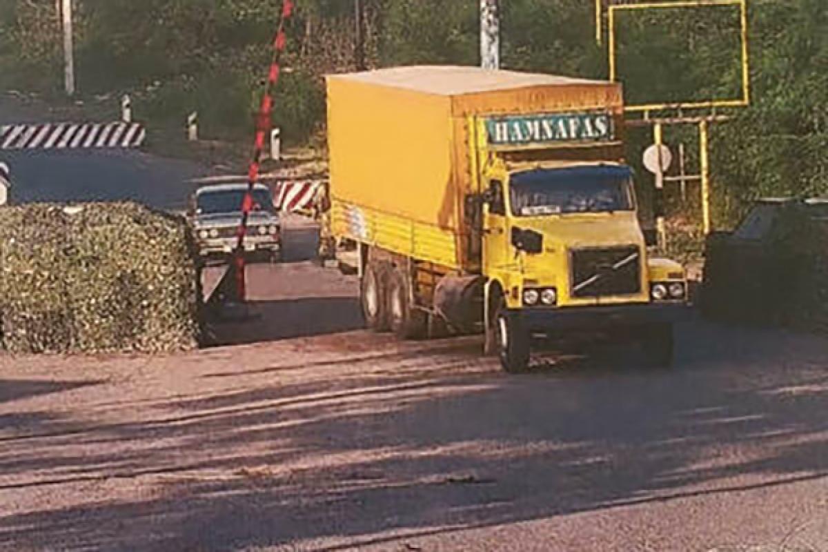 İran son 1 ayda 58 maşınla Xankəndiyə qaçaqmalçılıq yolu ilə naməlum yüklər göndərib - VİDEO