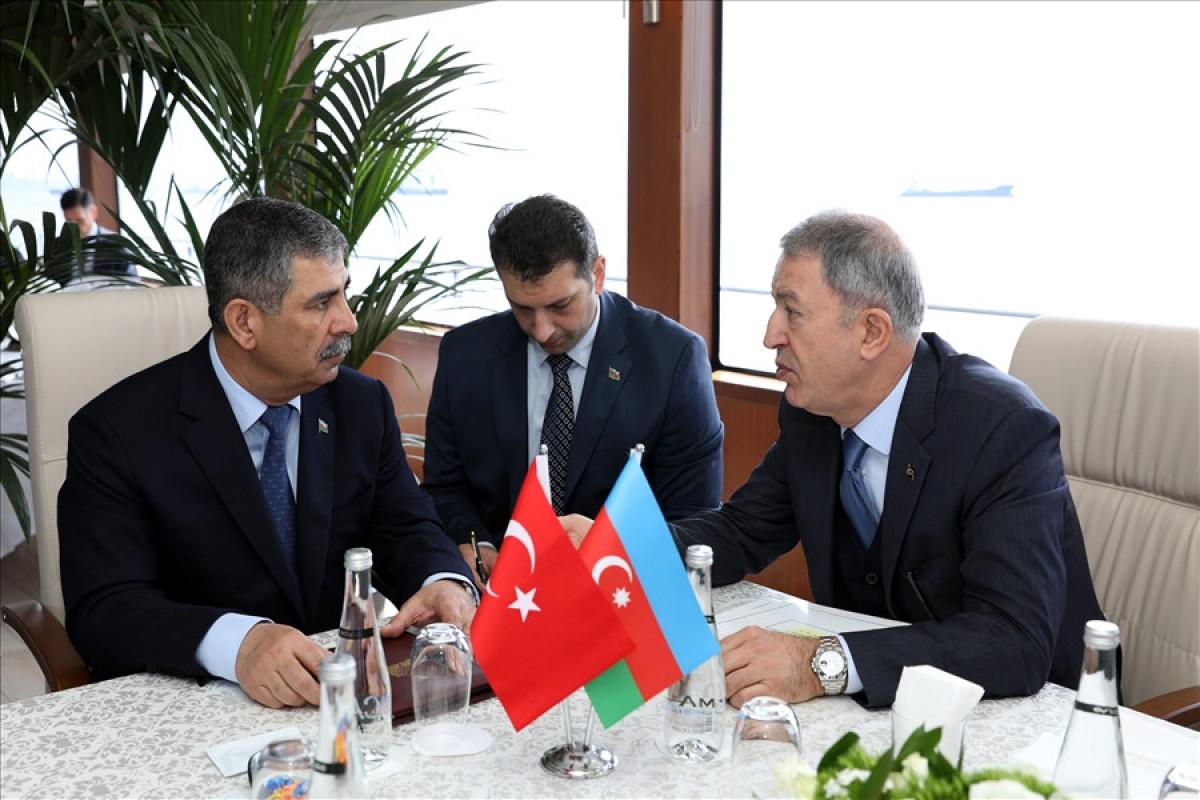 Zakir Həsənov Hulusi Akar və Yaşar Gülerə başsağlığı verib