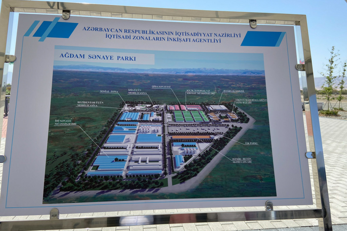 Representatives of the Ministries of Economy of the Cooperation Council of Turkic Speaking States are on a visit to Aghdam