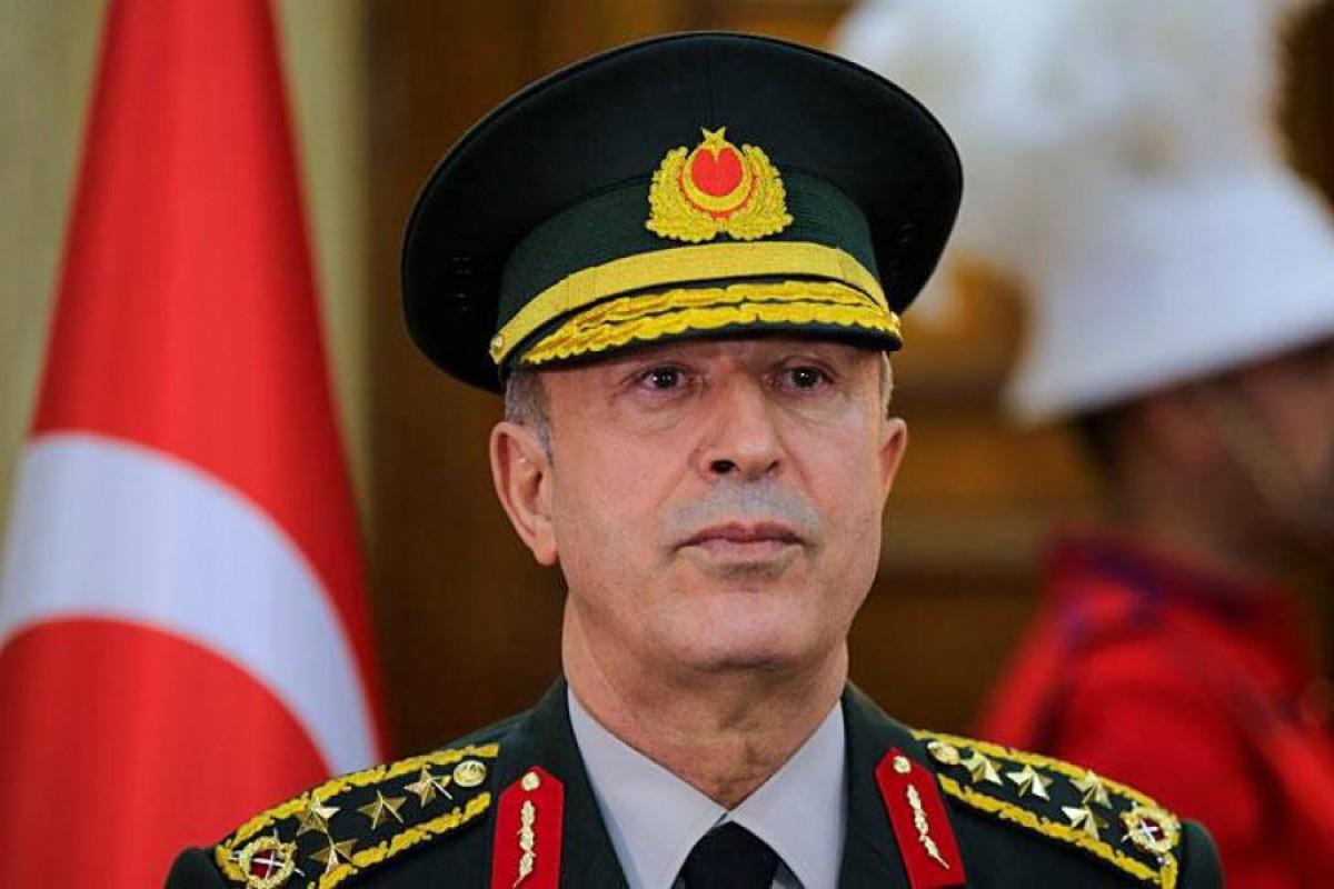 urkish Defense Minister Hulusi Akar