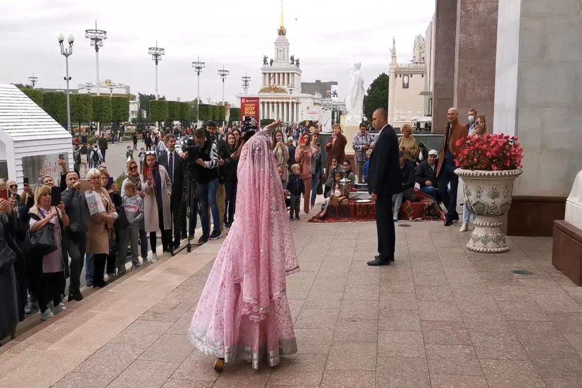 """Moskvanın 874 illiyi münasibəti ilə """"Moskva-Bakı - qəlbləri birləşdirir"""" adlı tədbir keçirilib - FOTO"""