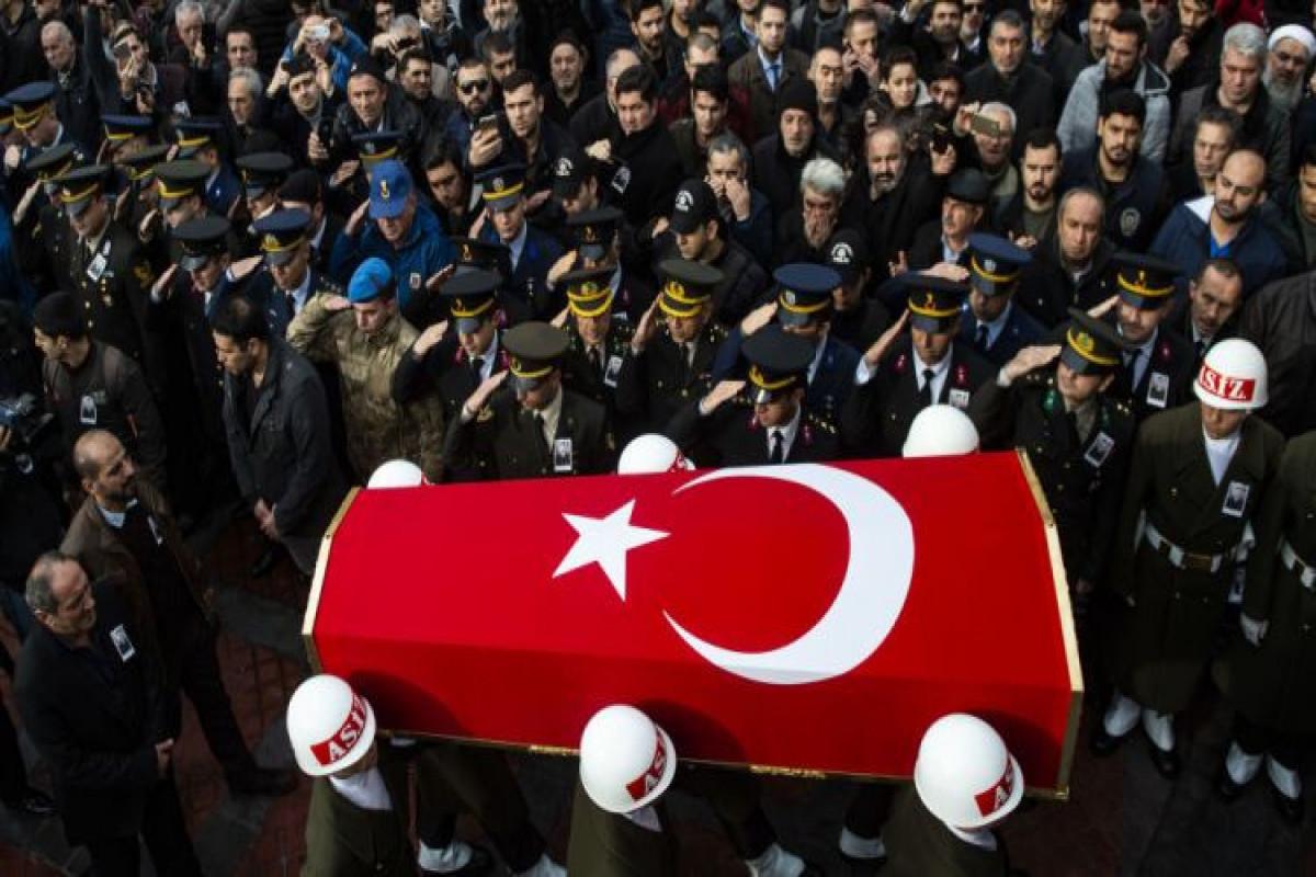 Suriayada şəhid olan türk əsgərlərinin sayı 3-ə çatıb