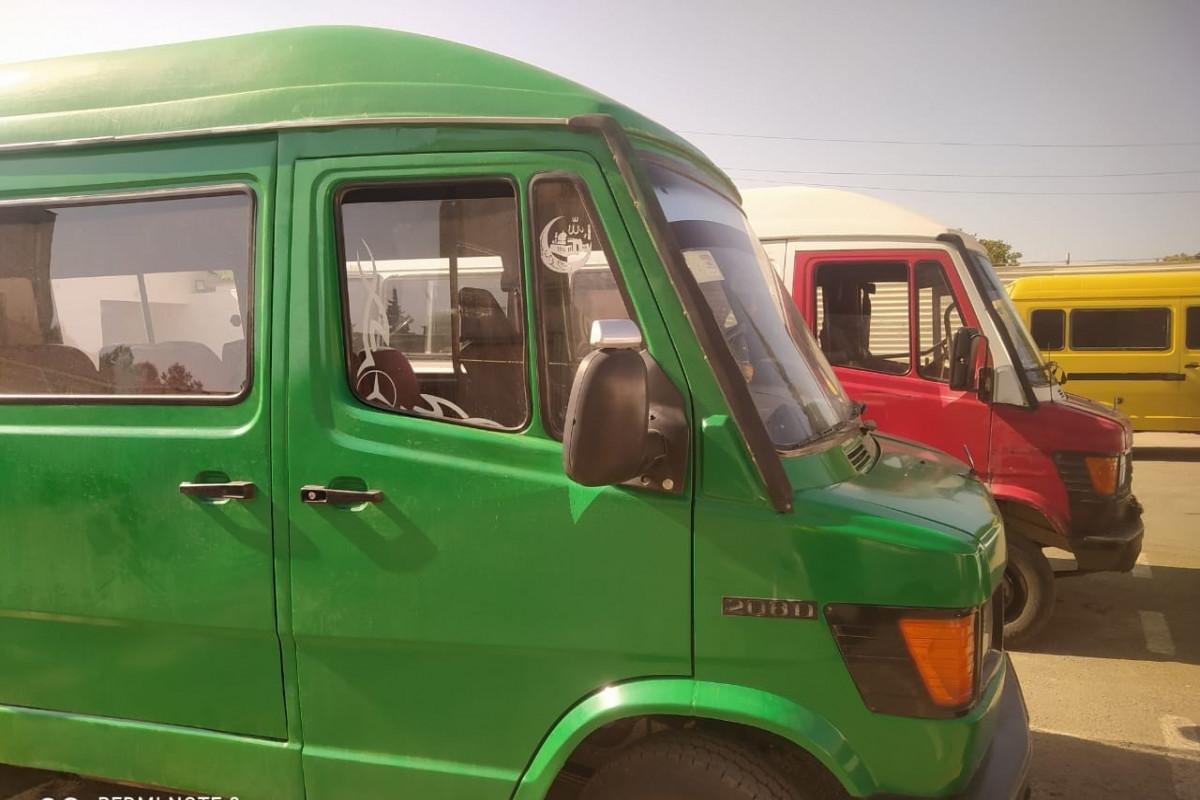 Karantin rejimi qaydalarını pozan mikroavtobus sürücüləri aşkarlanıb