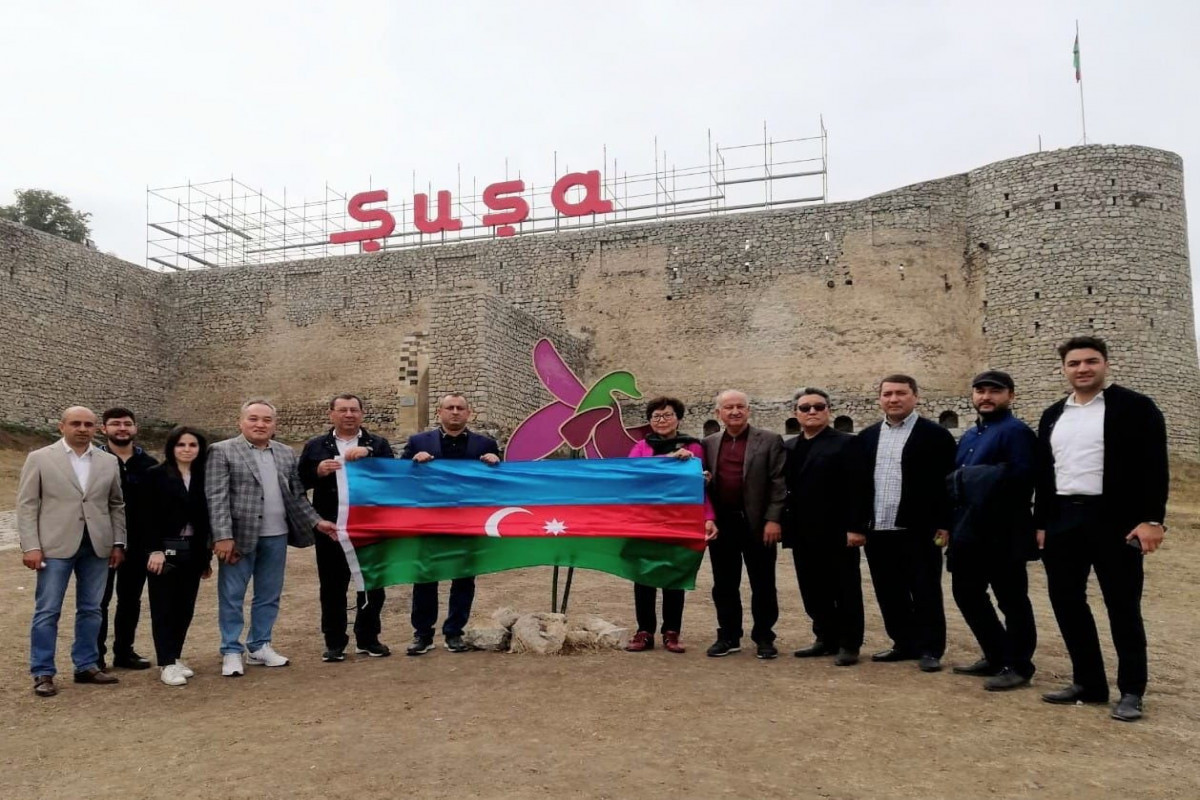 Delegation of Kazakhstan Parliament Visited the Towns of Shusha and Fuzuli