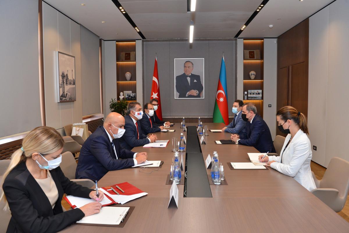 Azerbaijani FM received Turkish Deputy FM