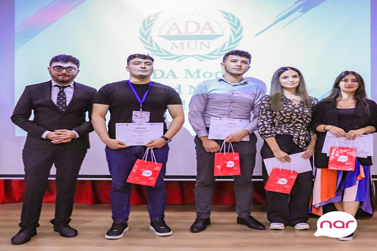 Nar поддержал проведение Молодежного Форума ADAMUN