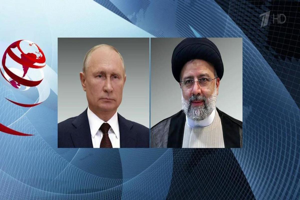 Rusiya və İran prezidentlərinin telefon danışığı olub