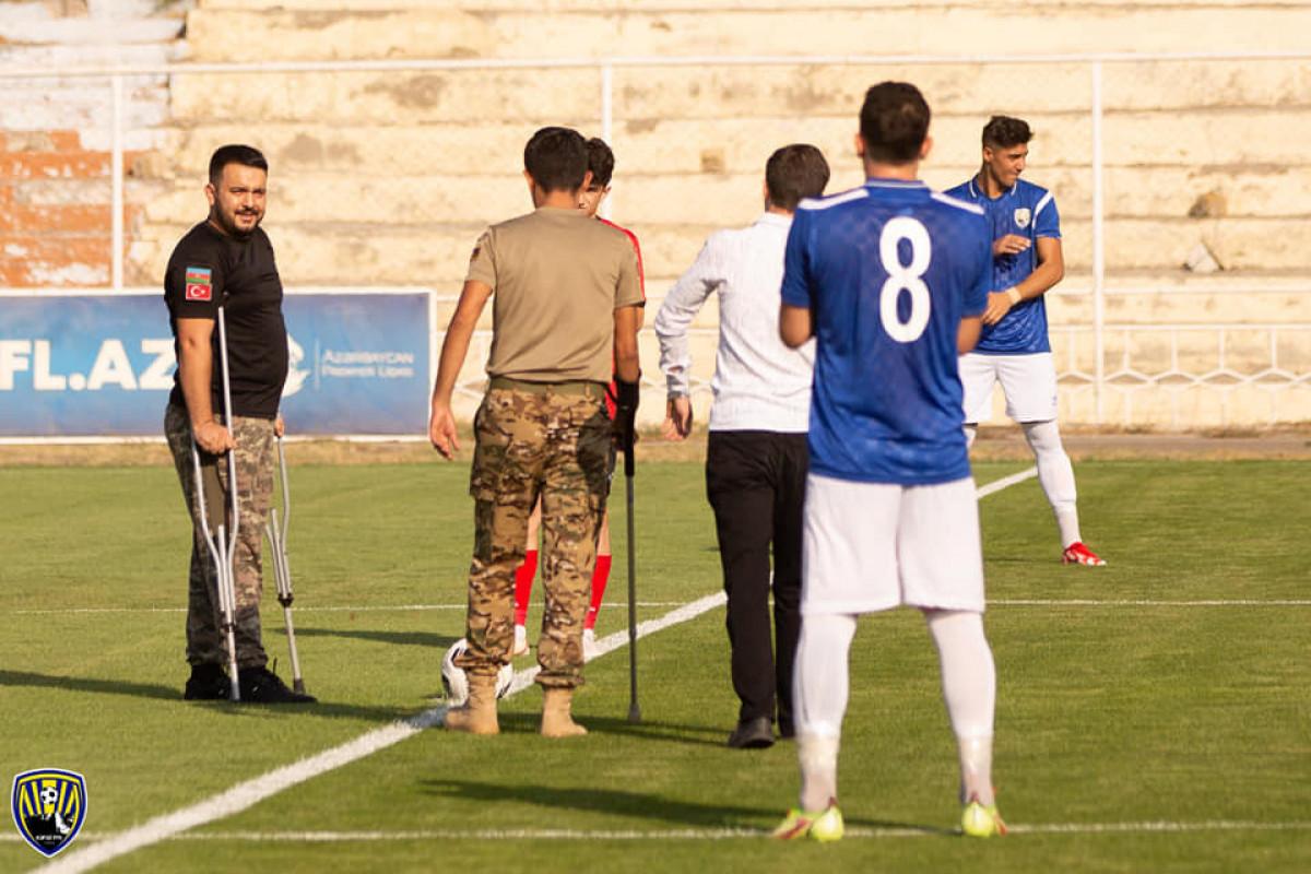 Azərbaycan çempionatının açılış oyununda topa ilk zərbəni qazilər vurub