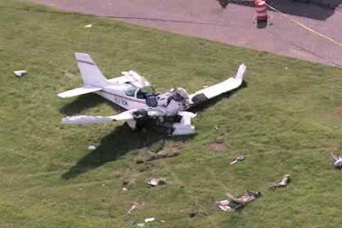 Seven dead when a plane crashed in southeastern Brazil